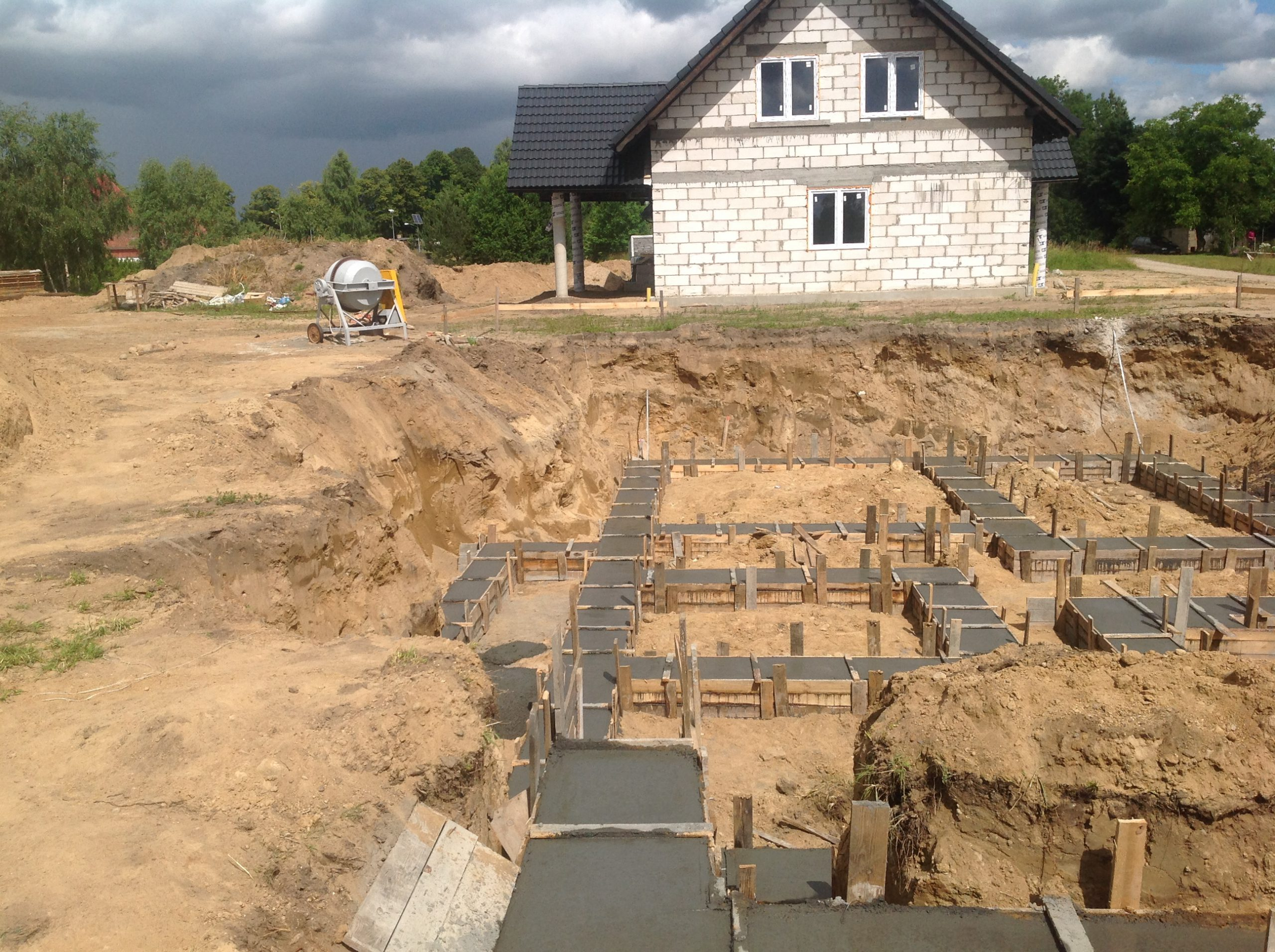 projekty budowlane bytów